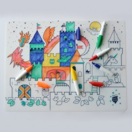 Placemat set - Castle