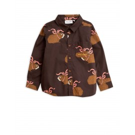Posh guinea pig shirt - brown