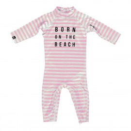 """Beach girl"" one piece baby swimsuit"