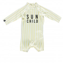 """Sun Child"" one piece baby swimsuit"