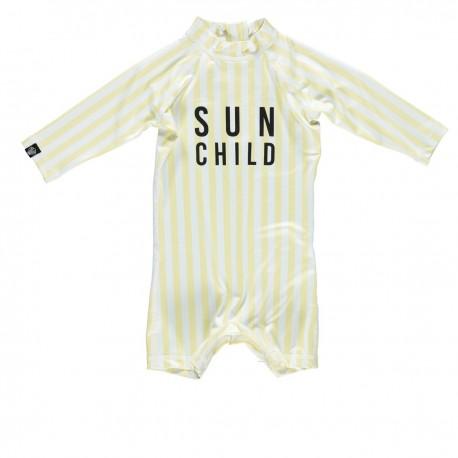 """Sun Child"" one piece baby swimsuit"