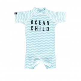 """Ocean Child"" one piece baby swimsuit"