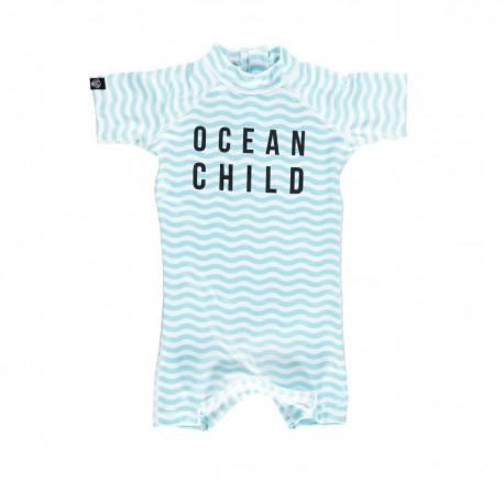 """Ocean Child"" one piece baby swimsuit"
