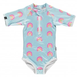"""ALOHA RAINBOW (EEF LILLEMOR®)"" short sleeved swimsuit"