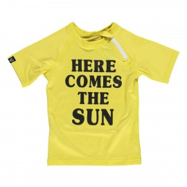 """Here comes the SUN"" UV swim tee"