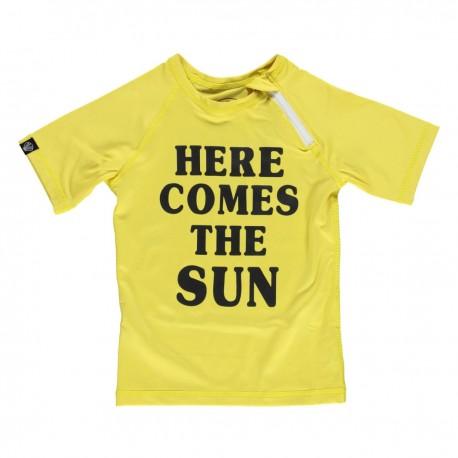 """Here comes the SUN"" UV swim tee"