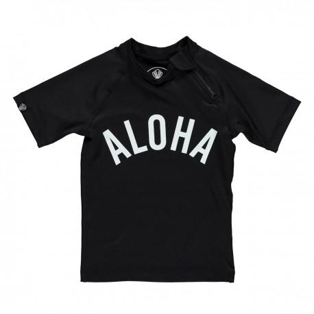 """Aloha tee"" UV swim tee"