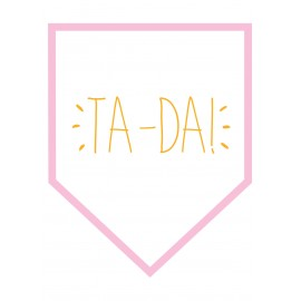 Ta-Da! Wall sticker