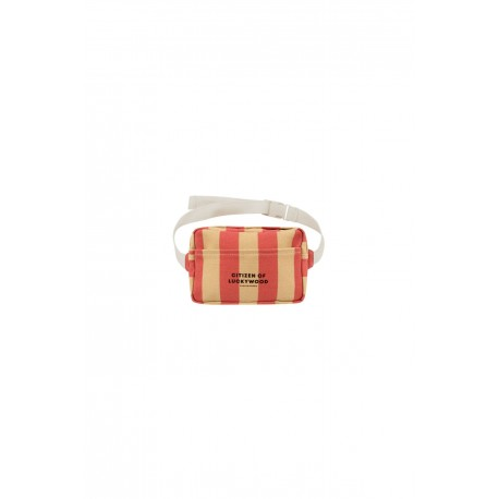 """""""CITIZEN"""" FANNY BAG sand/red"""