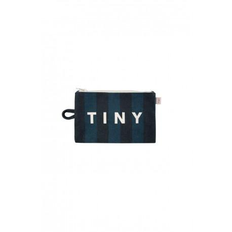 """TINY"" POUCH black/true navy"