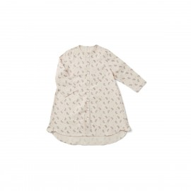 Evy Pyjamas Dress - Fern/rose