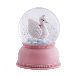 Swan Snowglobe Light