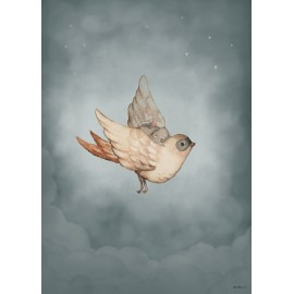 Mrs. Mighetto DEAR SPARROW, 50x70cm