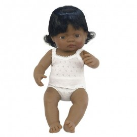 BABY DOLL HISPANIC GIRL 38CM