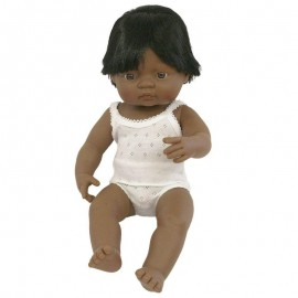 BABY DOLL HISPANIC BOY 38CM