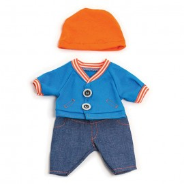 Mild weather jean set for 21cm dolls