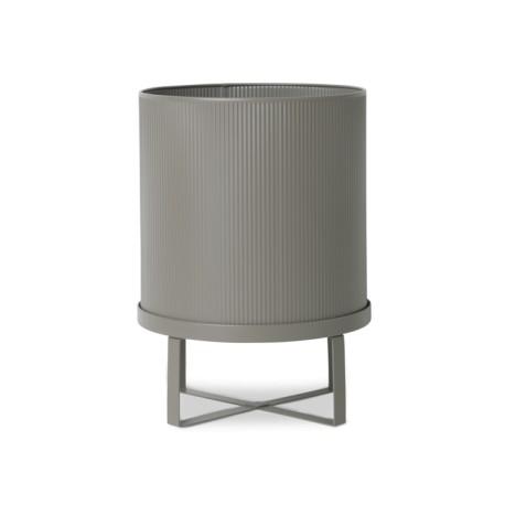 Bau Pot, warm grey, large