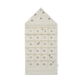 NEW Star Christmas Calendar - sand