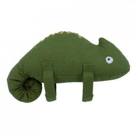 Musical pull toy, Carley the chameleon