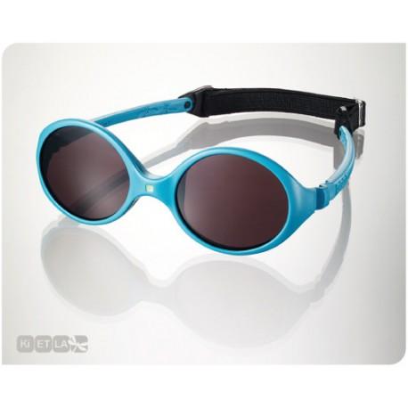 Diabola baby sunglasses - peackock blue - 0-18months