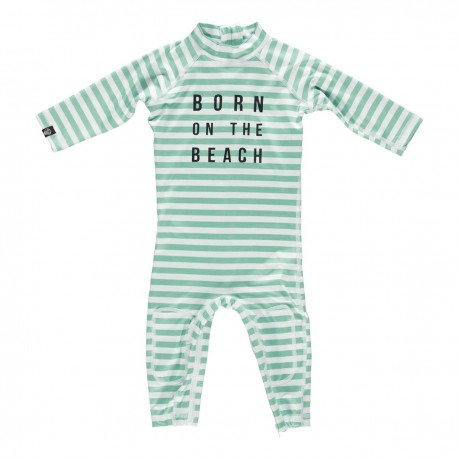 """Beach boy"" one piece baby swimsuit"