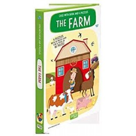 Sassi Junior - Book And Puzzle - The Farm