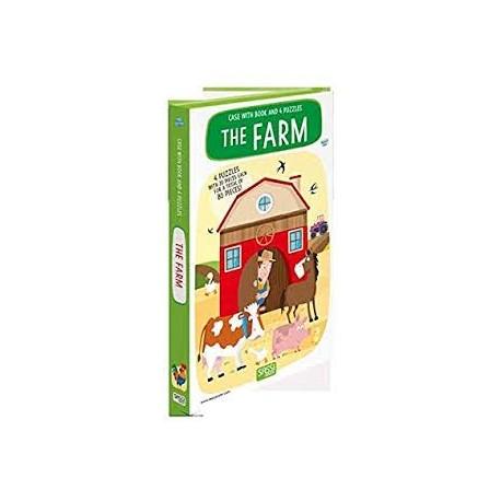 Sassi Junior - Book And Puzzle - The Farm