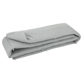 Crib bumper Grain grey