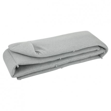 Crib bumper Grain grey