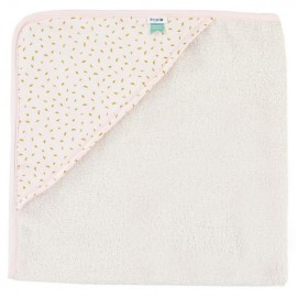 Hooded towel w. wash cloth Moonstone