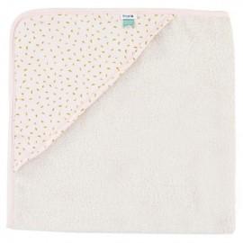 Hooded towel w. wash cloth Moonstone