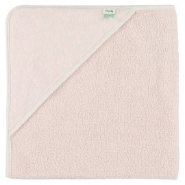 Hooded towel w. wash cloth grain rose
