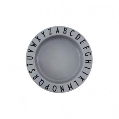 ABC deep plate- Tritan grey