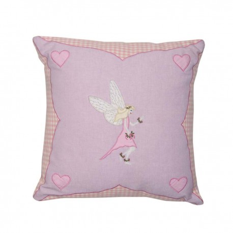 Appliqued Cushion Cover Fairy