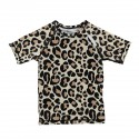 """Leopard shark"" UV swim tee"