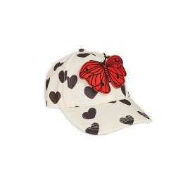 Hearts Cap - offwhite