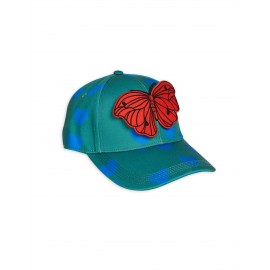 Hearts Cap - green