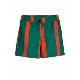 Stripe Swim Shorts - green
