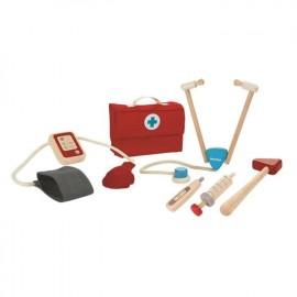 Wooden doctor set