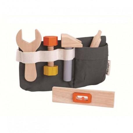 Wooden dentist set