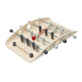 Wooden soccer game