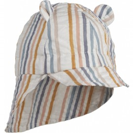 Gorm sun hat- Multi stripes