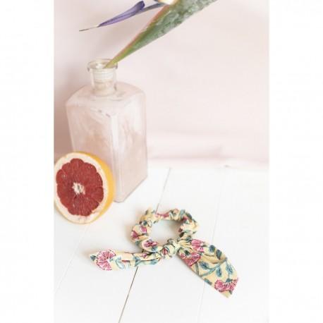 Hair tie - Lemon flowers