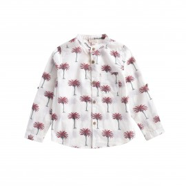 Shirt Amod - White Tropical