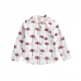 Shirt Amod - White Tropical