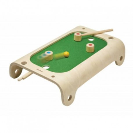 Wooden magnetic board game
