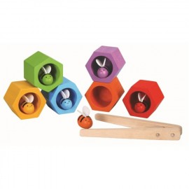Wooden Bee Hive game