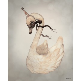 Mrs. Mighetto MISS SWAN, 50x70cm
