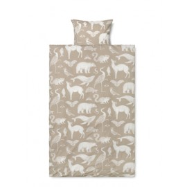 Katie Scott Bedding - Junior size - Sand