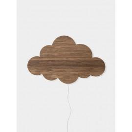 Cloud Lamp - smoked oak